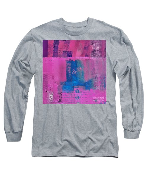 Long Sleeve T-Shirt featuring the digital art Classico - S0307d by Variance Collections