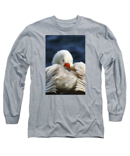 Long Sleeve T-Shirt featuring the photograph Clean Up Time 001 by Kevin Chippindall