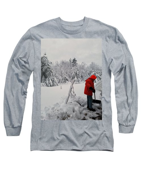 Clearing A Path Long Sleeve T-Shirt