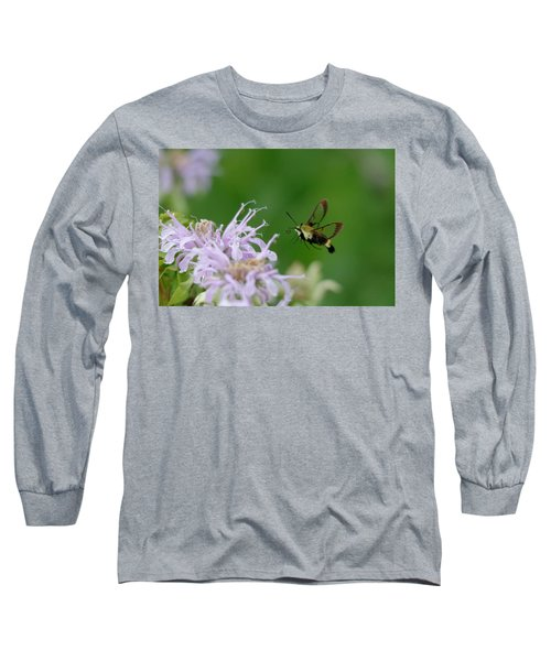 Clearwing Moth Long Sleeve T-Shirt