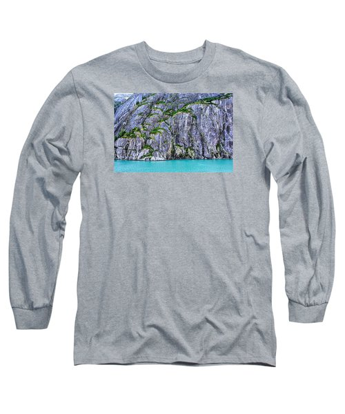 Cliffs Of The Inside Passage Long Sleeve T-Shirt by Lewis Mann