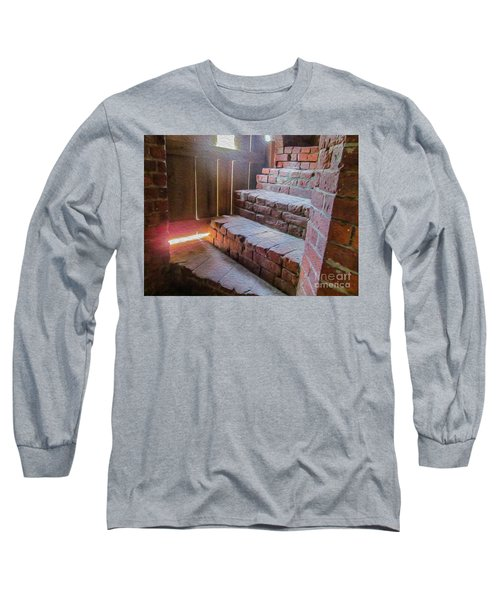 Climb The Brick Steps Of Time Long Sleeve T-Shirt