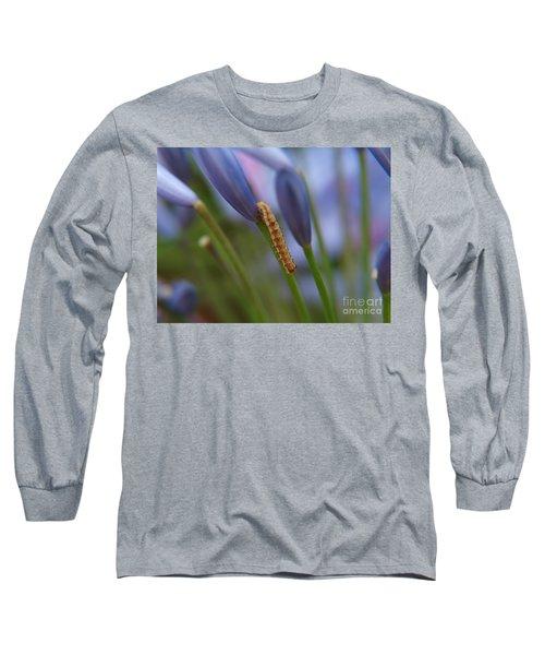 Climbing Caterpillar Long Sleeve T-Shirt