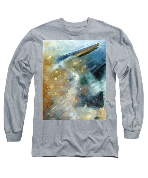 Close Encounter With A Great Blue Long Sleeve T-Shirt