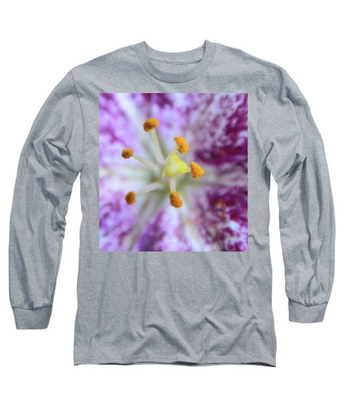 Close Up Flower Long Sleeve T-Shirt