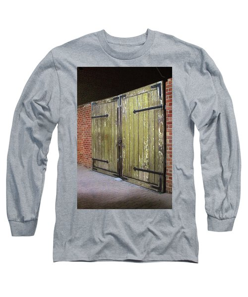Long Sleeve T-Shirt featuring the photograph Closed Until Tomorrow by Viktor Savchenko