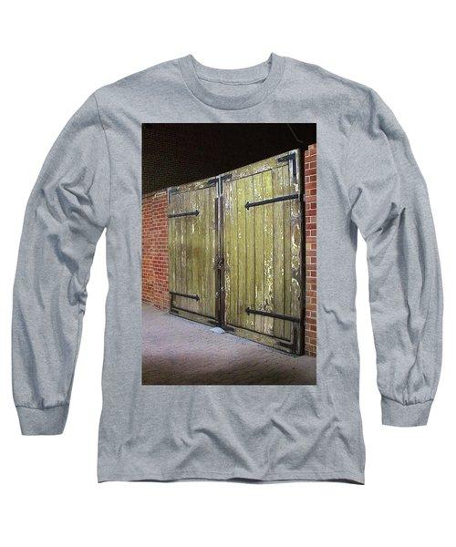 Closed Until Tomorrow Long Sleeve T-Shirt by Viktor Savchenko