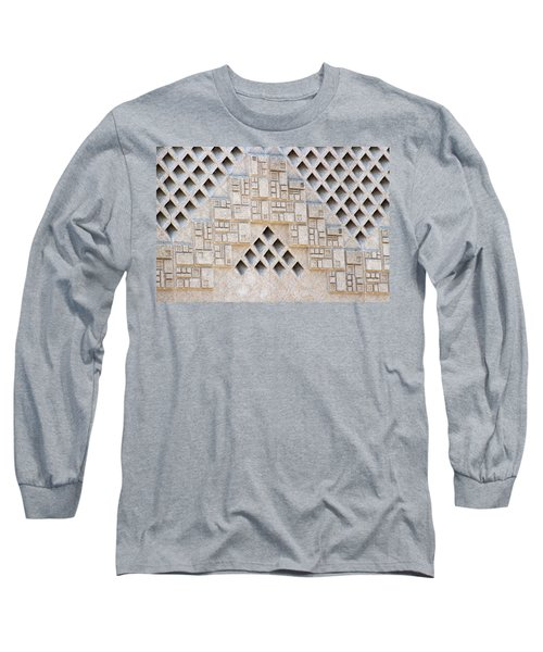 Closeup Of Federal Courthouse Roswell Long Sleeve T-Shirt
