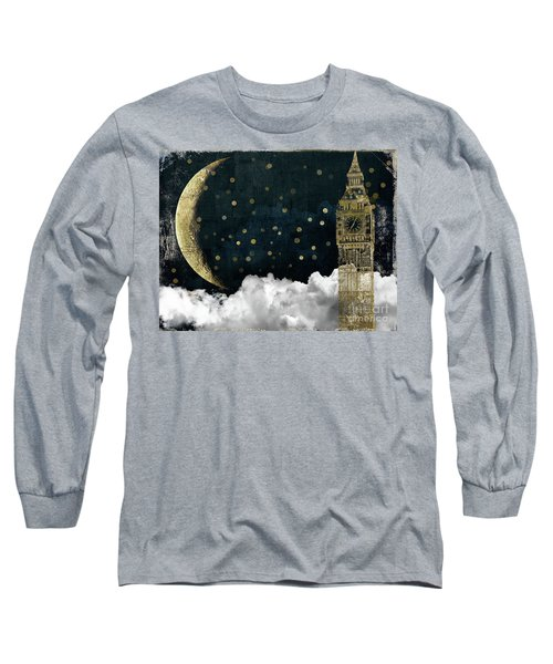 Cloud Cities London Long Sleeve T-Shirt by Mindy Sommers