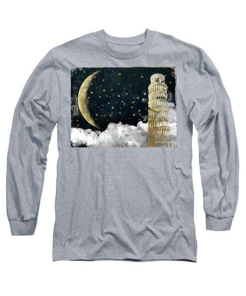 Cloud Cities Pisa Italy Long Sleeve T-Shirt by Mindy Sommers