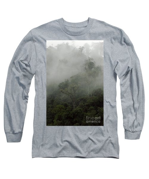 Cloud Forest Long Sleeve T-Shirt by Kathy McClure