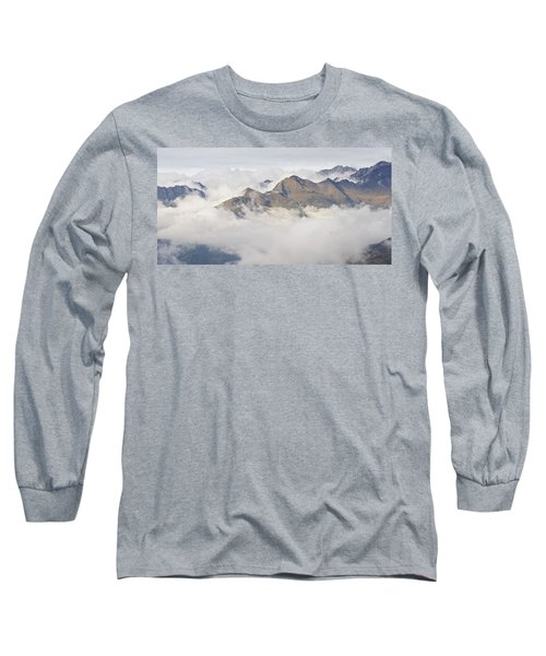 Cloud Inversion In The Pyrenees Long Sleeve T-Shirt