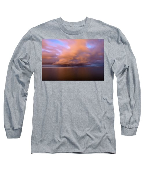 Cloud Motion At Dawn  Long Sleeve T-Shirt