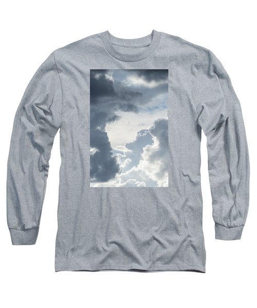Long Sleeve T-Shirt featuring the photograph Cloud Painting by Laura Pratt