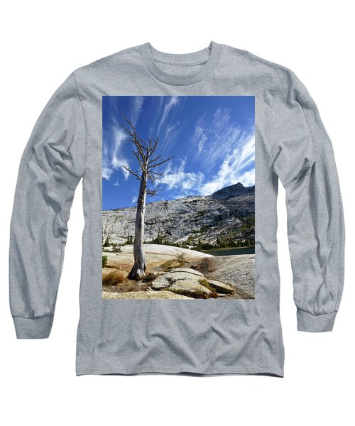 Cloud Stretch Lower Cathedral Lake Long Sleeve T-Shirt by Amelia Racca
