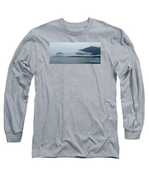 Cloud-wreathed Coastline Inside Passage Alaska Long Sleeve T-Shirt