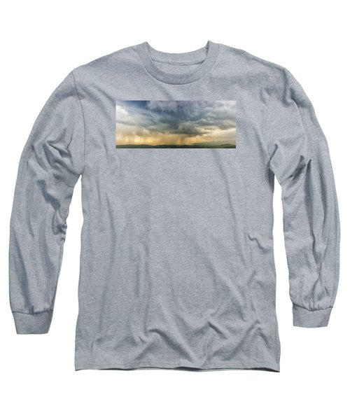 Storm Clouds - Blue Ridge Parkway Long Sleeve T-Shirt