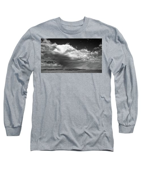 Clouds Along Indian Route 13 Long Sleeve T-Shirt by Monte Stevens