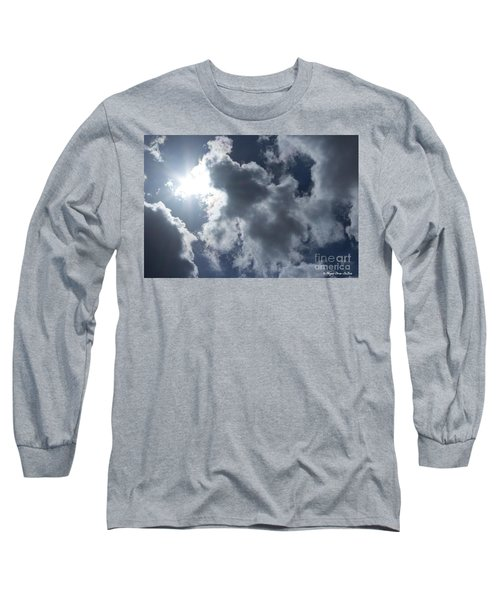 Long Sleeve T-Shirt featuring the photograph Clouds And Sunlight by Megan Dirsa-DuBois