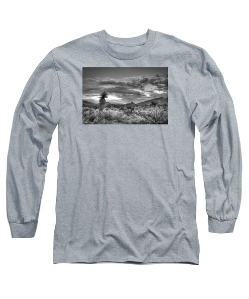 Clouds And Yucca Long Sleeve T-Shirt