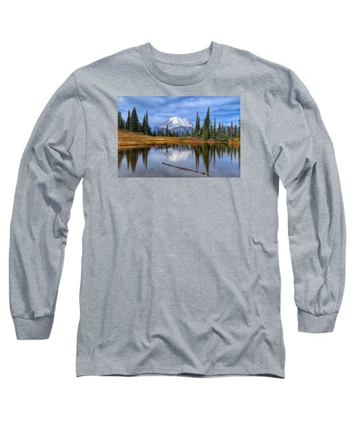 Clouds In The Morning Long Sleeve T-Shirt by Lynn Hopwood