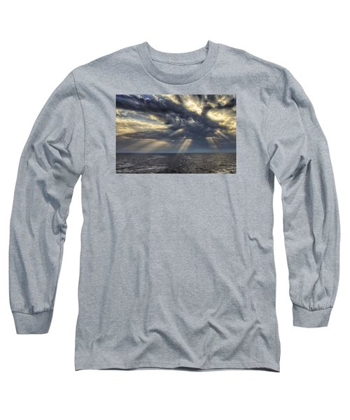 Long Sleeve T-Shirt featuring the photograph Clouds by John Swartz
