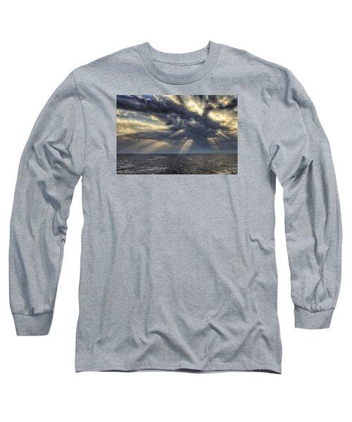 Clouds Long Sleeve T-Shirt by John Swartz