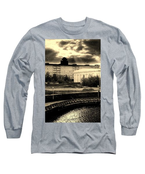 Clouds Over Minsk Long Sleeve T-Shirt by Vadim Levin