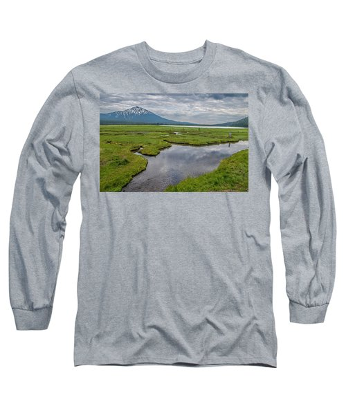 Clouds Over Sparks Long Sleeve T-Shirt