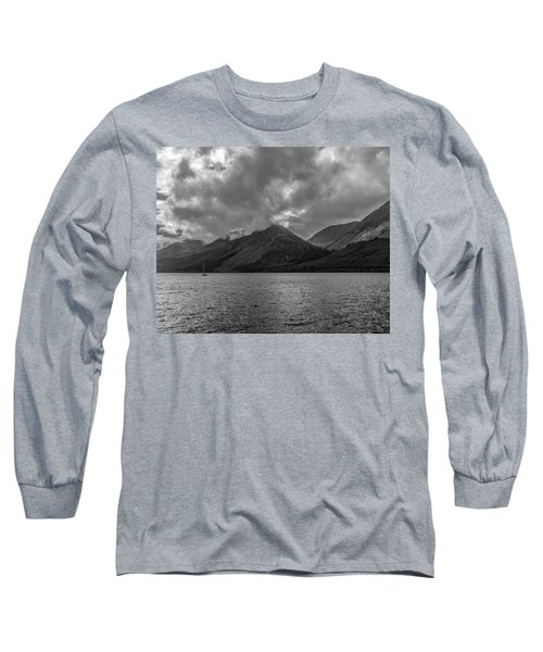 Clouds Over Loch Lochy, Scotland Long Sleeve T-Shirt