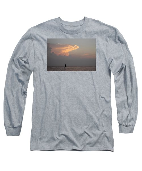 Clouds Signalling Dawn Long Sleeve T-Shirt by Robert Banach