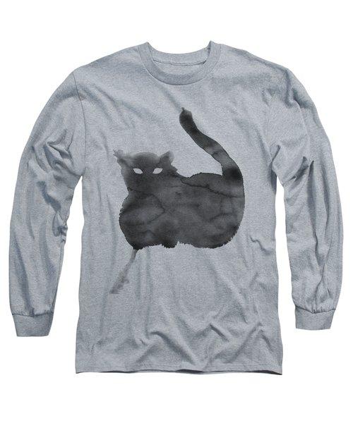 Cloudy Cat Long Sleeve T-Shirt