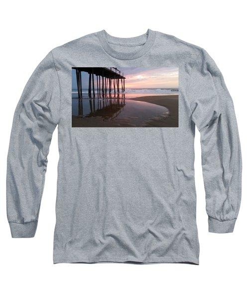 Cloudy Morning Reflections Long Sleeve T-Shirt