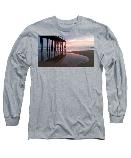 Cloudy Morning Reflections Long Sleeve T-Shirt