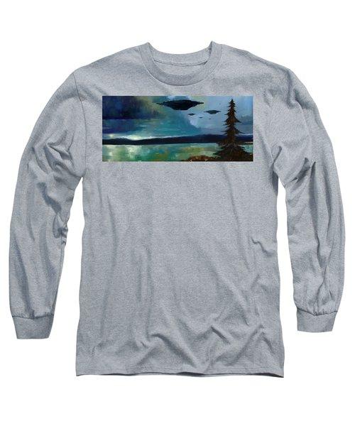 Cloudy Skies Long Sleeve T-Shirt