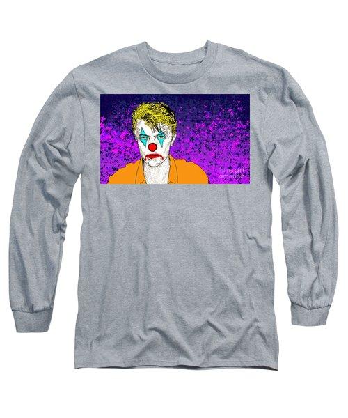 Clown David Bowie Long Sleeve T-Shirt