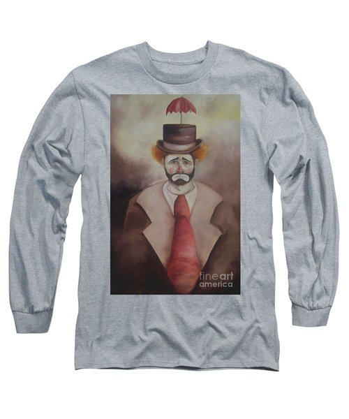 Clown Long Sleeve T-Shirt by Marlene Book