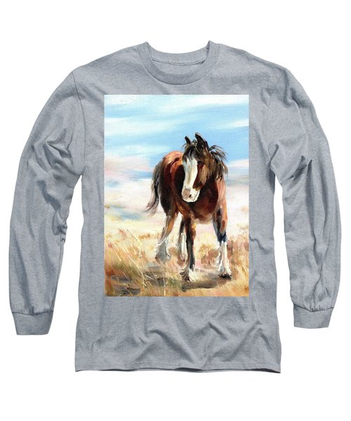 Clydesdale Foal Long Sleeve T-Shirt