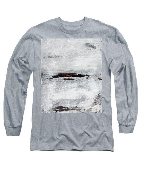 Coast # 10 Seascape Landscape Original Fine Art Acrylic On Canvas Long Sleeve T-Shirt