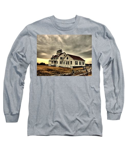 Coast Guard Beach Station Long Sleeve T-Shirt