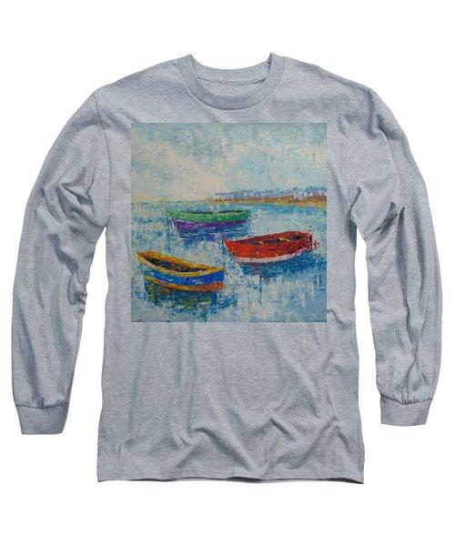 Coast Of Normandy Long Sleeve T-Shirt