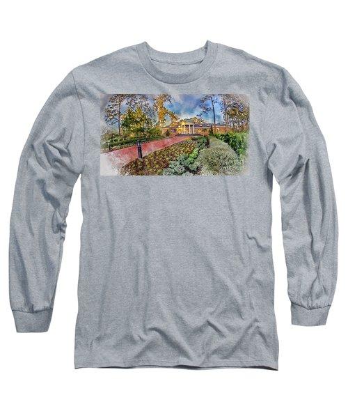 Coastal Carolina University Digital Watercolor Long Sleeve T-Shirt
