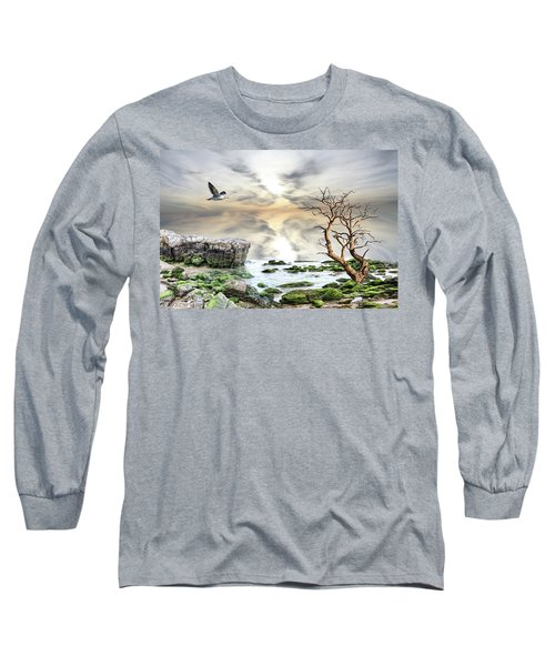 Coastal Landscape  Long Sleeve T-Shirt