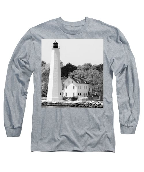 Coastal Lighthouse Long Sleeve T-Shirt