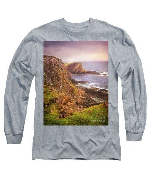 Long Sleeve T-Shirt featuring the photograph Coastal Walks IIi by Maciej Markiewicz