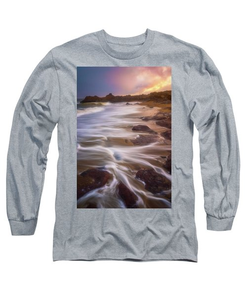 Long Sleeve T-Shirt featuring the photograph Coastal Whispers by Darren White