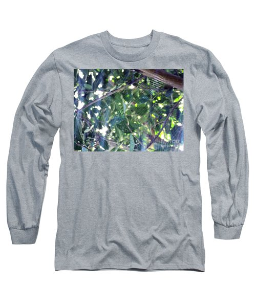 Long Sleeve T-Shirt featuring the photograph Cobweb Tree by Megan Dirsa-DuBois