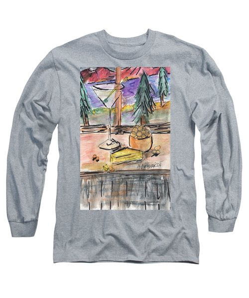 Cocktail At Tahoe  Long Sleeve T-Shirt