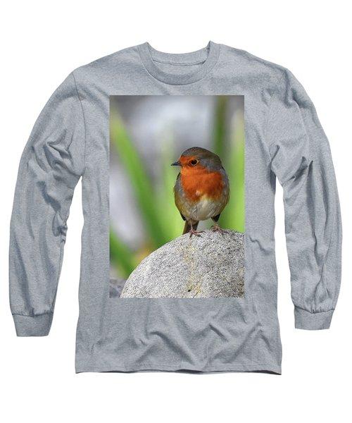 Cocky Robin Long Sleeve T-Shirt
