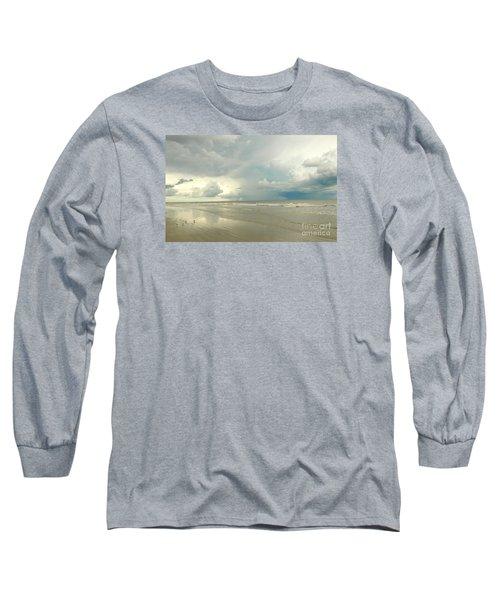 Long Sleeve T-Shirt featuring the photograph Coco Beach by Raymond Earley